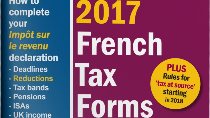 close up of the headline of the Connexion 2017 income tax guide