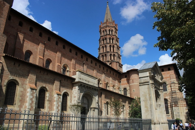 Basilica St Sernin Toulouse
