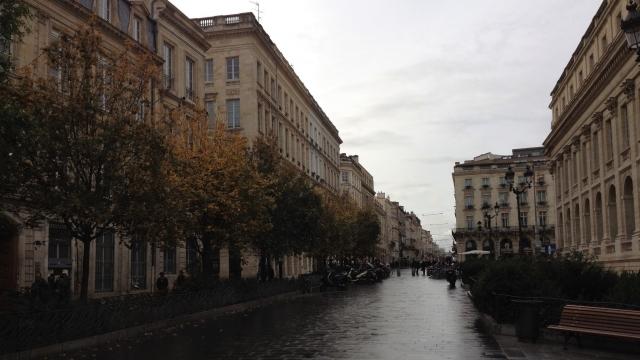 A street in Bordeaux