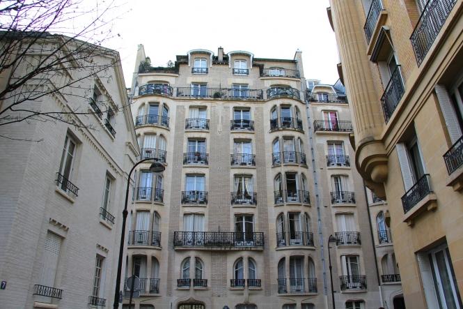 general image of apartment buildings in Paris