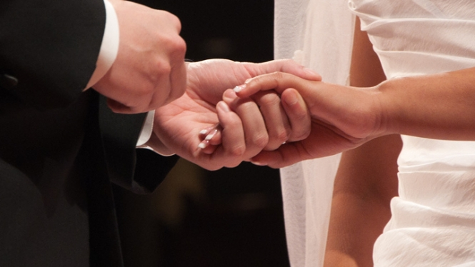 The city of Nantes hosted France's first 'night-time weddings'
