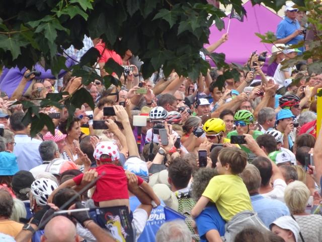 Tour de France grand depart at Eymet, July 12, 2017