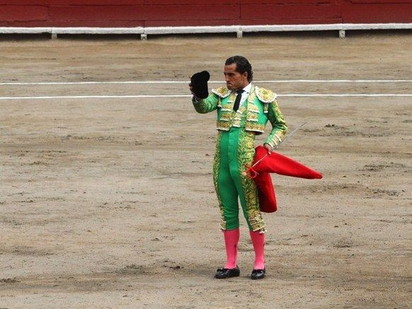Bullfighter Ivan Fandiño in 2012