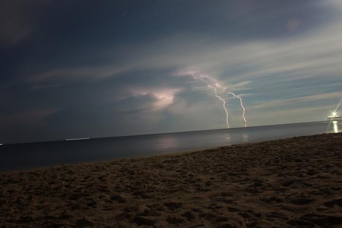 holidaymaker killed by lightning strike