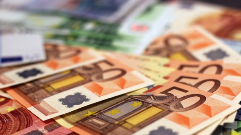 General image of euro currency notes