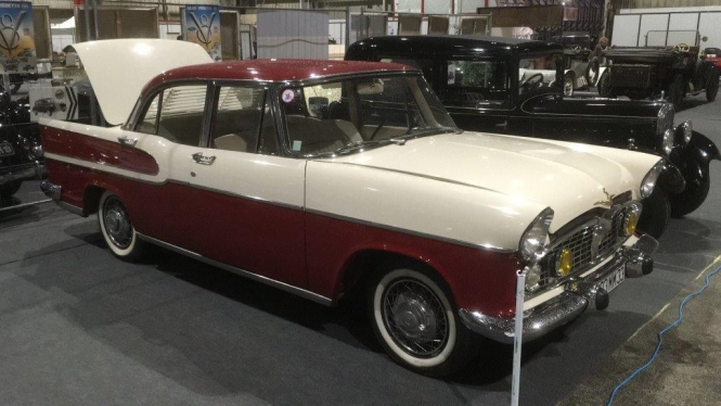 100 years of Citroën marked at classic car show