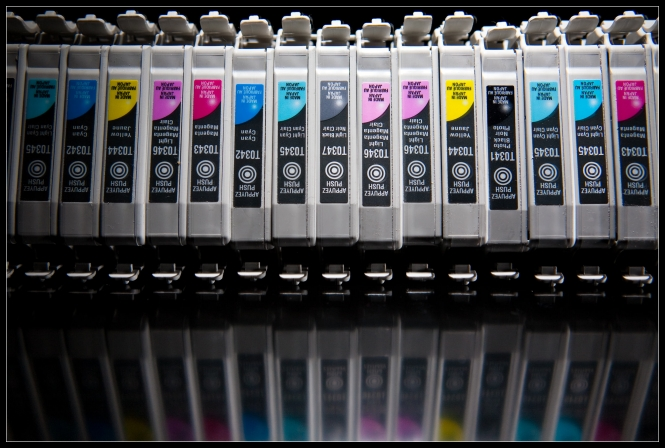 used printer cartridges