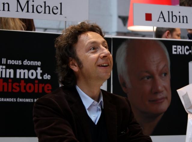 TV presenter Stéphane Bern