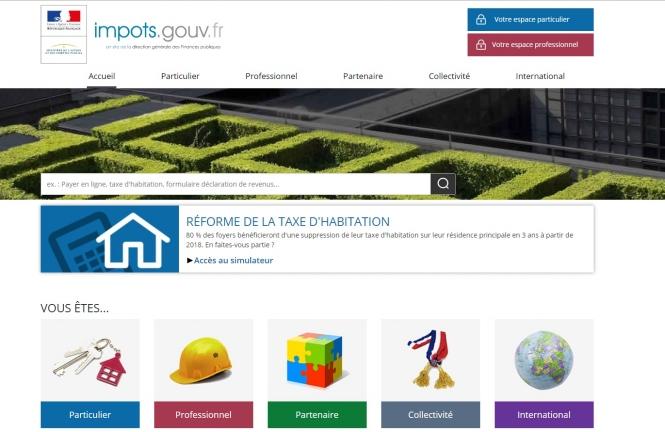 Online Tax Declarations Opening