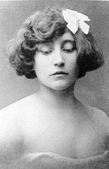 Writer Colette circa 1902